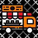 Van Truck Coffee Icon