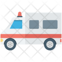 Van Ambulance Humanitarian Icon