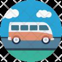 Van Bus Tour Icon