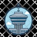 Vancouver Famous Building Landmark Icon
