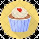 Vanilla Cupcake Cream Cake Cupcake Icon