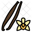Vanilla Flower Nature Icon