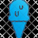 Vanilla Ice Cream Vanilla Ice Cream Cone Icon