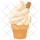 Vanilla Cone Soft Icon