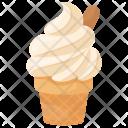 Vanilla Ice Cream Icon