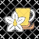 Vanilla Tea Vanilla Chai Tea Cup Icon