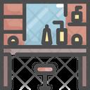 Vanity Interior Furniture Icon