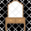 Vanity Table Furniture Icon