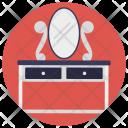 Vanity Table Dresser Icon