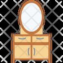 Vanity Table Furniture Dresser Icon