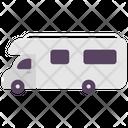 Camp Car Picnic Car Transport Icon