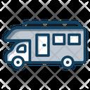 Vanity Van Camping Wagon Campervan Icon