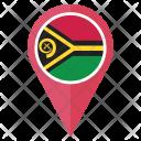 Vanuatu Flag Icon