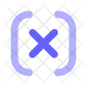 Variable Mathematical X Icon
