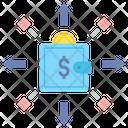 Variable Expenses Money Expense Wallet Money Expenses Icon