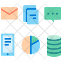 Variety Of Data Icon