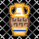 Greek Ornamental Vase Icon