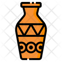 Vase Art Design Icon