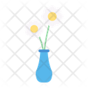 Vase Flower Decoration Icon
