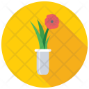Vase Flower Glass Icon