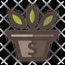 Vase Money Icon