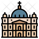 Vatican City Saint Peter Basilica Landmark Icon