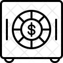 Vault Locker Cash Icon
