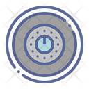 Combination Security Protection Icon
