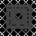 Vault Locker Safety Icon