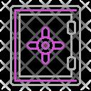 Vault Deposit Business Icon