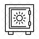 Save Box Vault Icon