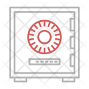 Secure Vault Safety Icon