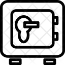 Vault Safety Deposit Icon