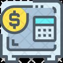 Savings Secure Vault Icon