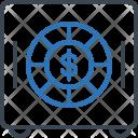 Deposit Safe Cash Icon