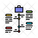 Vcareer Growth Color Icon