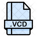 Vcd File File Extension Icon