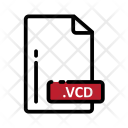 Vcd Document Extension Icon