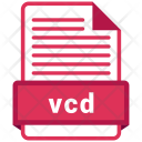 Vcd File Format Icon
