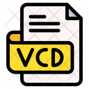 Vcd File Type File Format Icon