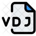 Vdj File Audio File Audio Format Icon