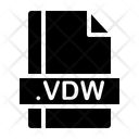 Vdw File Icon