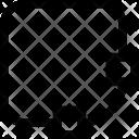 Vector Editing Square Icon