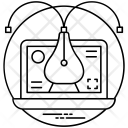 Illustration Pixel Based Art Icon