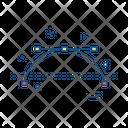 Vector Maths Geomtery Icon