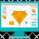 Graphic Design Creative Vector Icon
