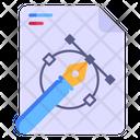 Vector Designing Icon