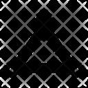 Triangle Vector Triangle Shape Icon