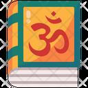 Vedas India Hinduism Icon