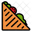 Veg Sandwich Icon
